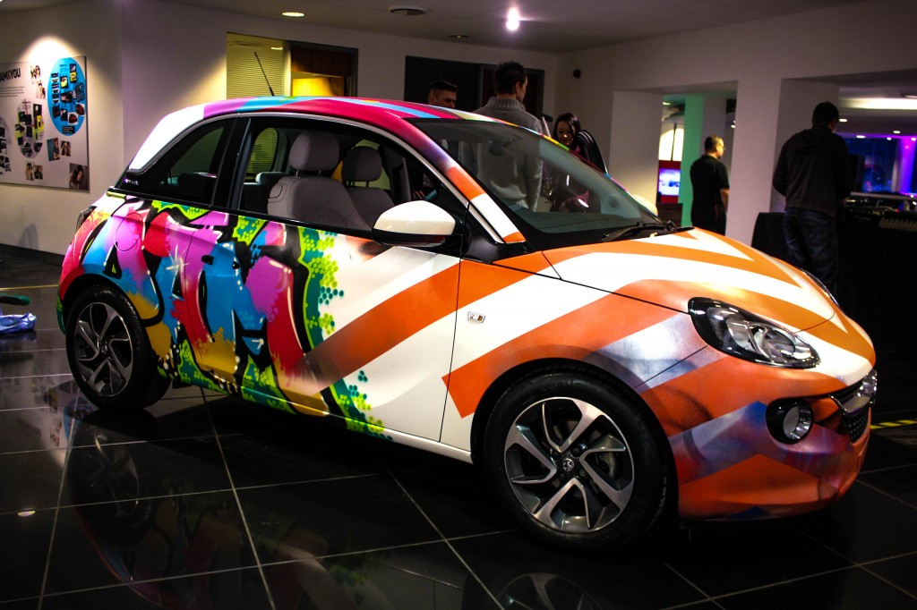 Vauxhall Adam Digital Graffiti
